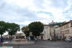 Piazza Santa Chiara - Assisi, Umbria