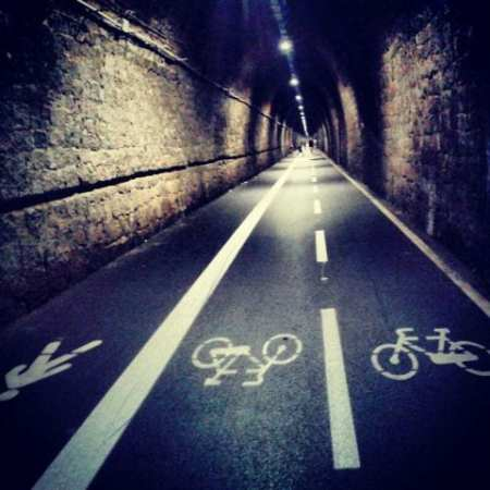 Pista ciclabile - Bonassola, Liguria
