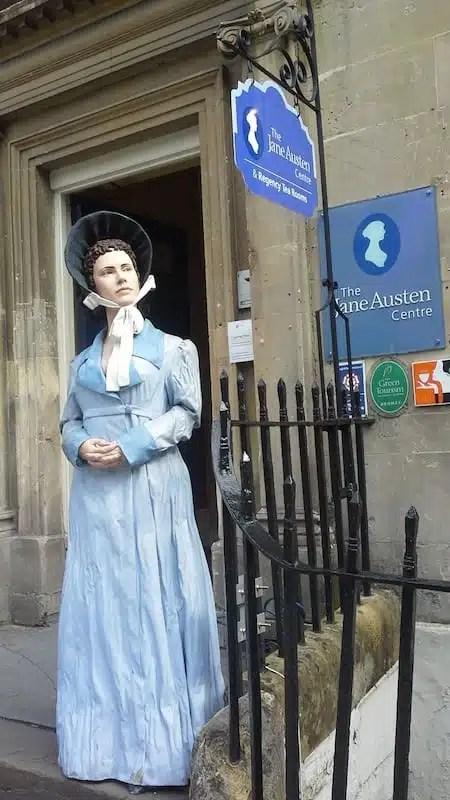 Jane Austen Centre, Bath - Inghilterra, Regno Unito