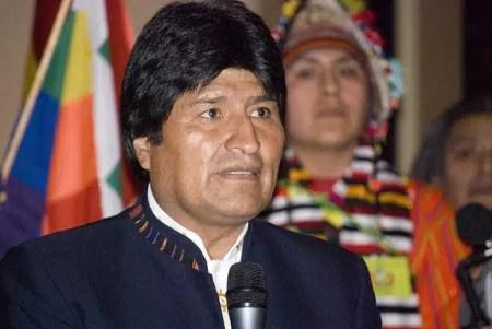 Evo Morales, presidente della Bolivia