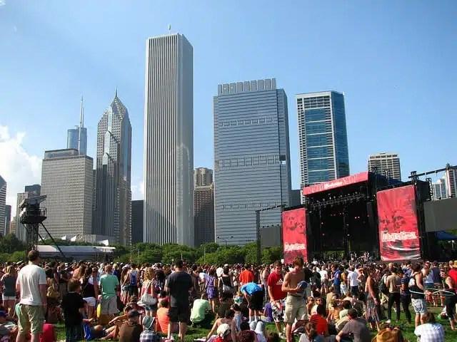 Lollapalooza, music festival - USA