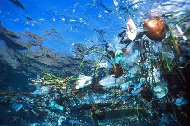 Inquinamento nell'Oceano Pacifico