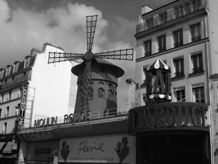 Le Moulin Rouge - Parigi, Francia