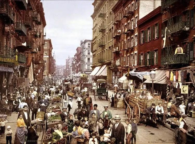 Mulberry Street, Little Italy - New York City, USA