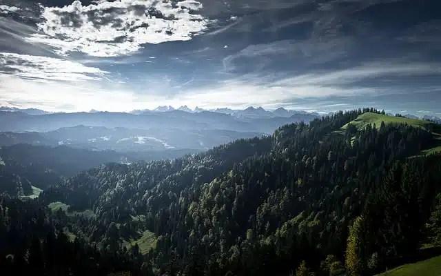 Montagne - Lucerna, Svizzera