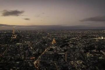 Panoramica su Parigi