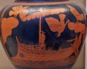 Ulisse - vaso greco