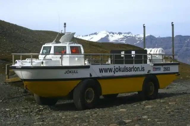 Amphibious boat, Jökulsárlón - Iceland
