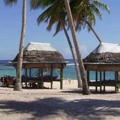 Fale sulla spiaggia - Samoa