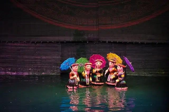 Marionette sull'acqua - Hanoi, VIetnam