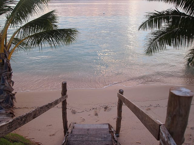 Tanu Beach - Savai'i Island, Samoa