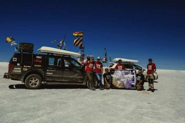 7MML Around the World 2014-2015 - Salar de Uyuni, Bolivia