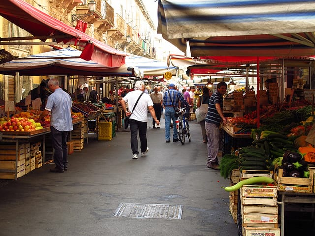 Mercato di Ortigia - Siracusa, Sicilia, Italia