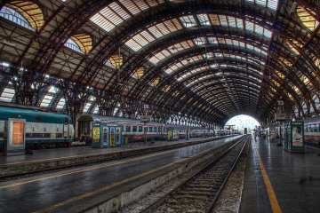 Stazione Centrale - Milano, Italia