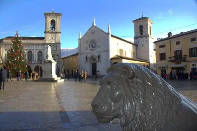 Norcia, Umbria, Italia