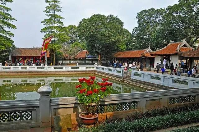 Tempio della Letteratura - Hanoi, Vietnam