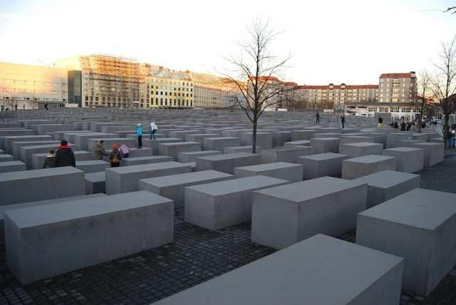 Memoriale per gli ebrei assassinati d'Europa - Berlino, Germania