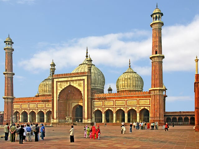 Jamia Masjid - New Delhi, India