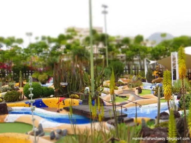 Minigolf Parque Santiago - Tenerife, Canarie