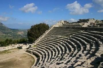 Teatro di Segesta - Sicilia, Italia