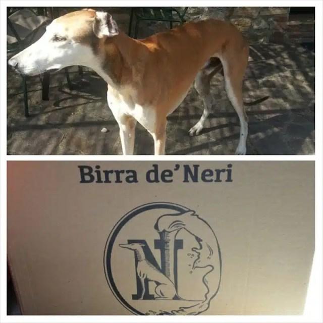 Toki e l'etichetta della Birra de' Neri
