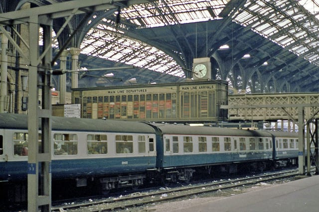 Stazione di Liverpool - UK