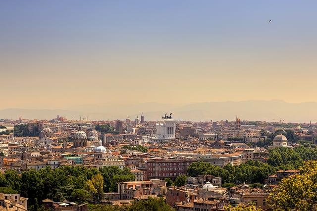 Arte - Roma dal Gianicolo