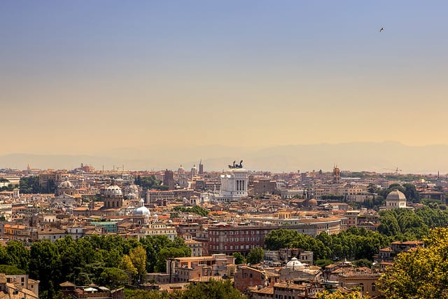 Roma dal Gianicolo_Giuseppe Moscato