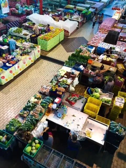 Papeete's market - Tahiti, French Polynesia