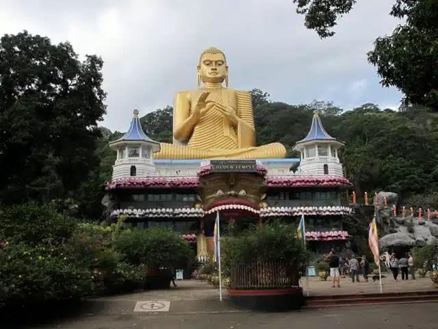 Golden Temple - Sri Lanka