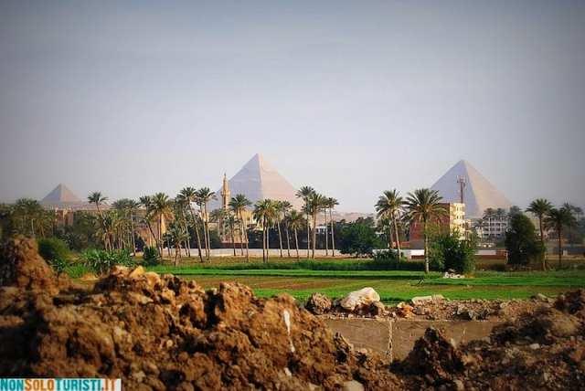 Piramidi di Giza - Il Cairo, Egitto