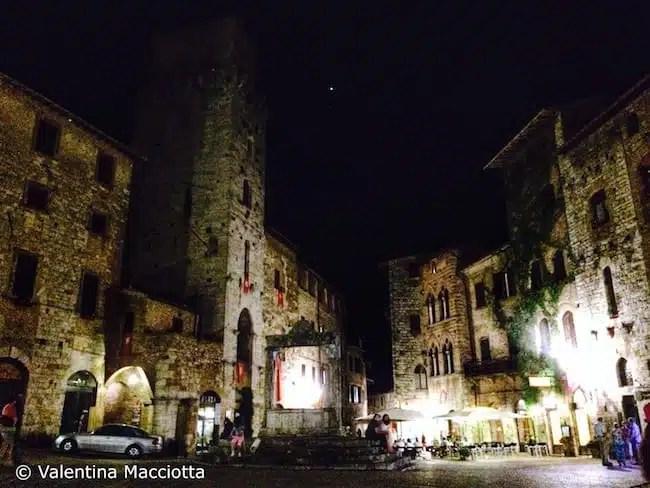 Via Francigena , San Gimignano - Toscana, Italy