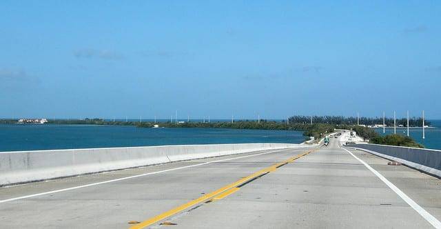 Overseas Highway - Florida, USA