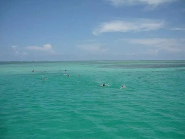 Snorkeling - Belize in barca a vela