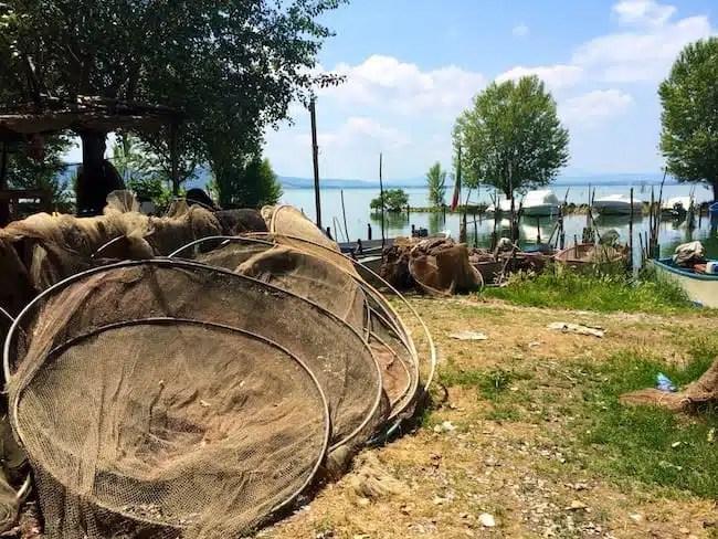 Trasimeno lake - San Feliciano, Italy