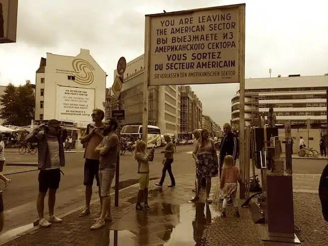 Checkpoint Charlie, Muro di Berlino - Germania