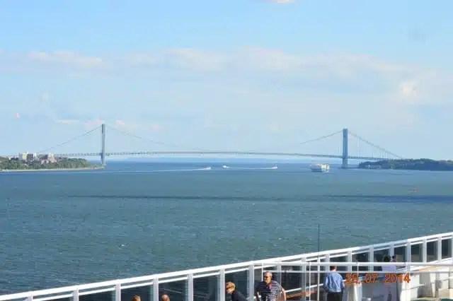 Crociere transatlantiche, Ponte di Brooklyn - USA