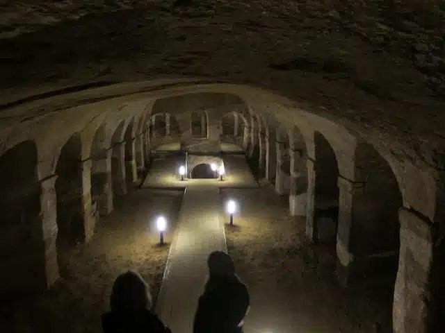 Grotte di Camerano, Marche, Italia