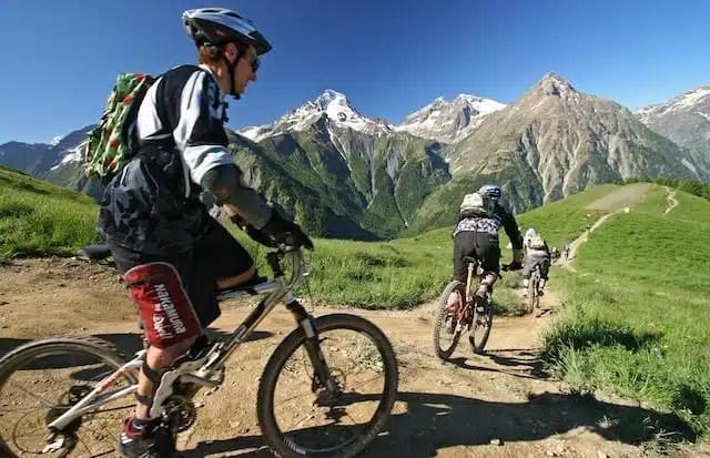 Mountain bike - Les Deux Alpes, Francia