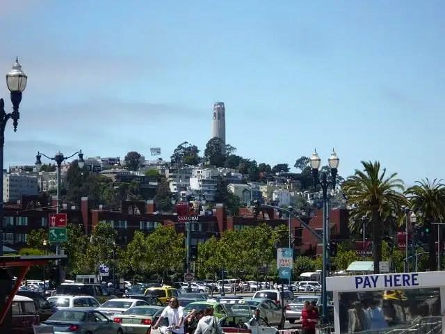 Coit Tower - San Francisco, California, USA