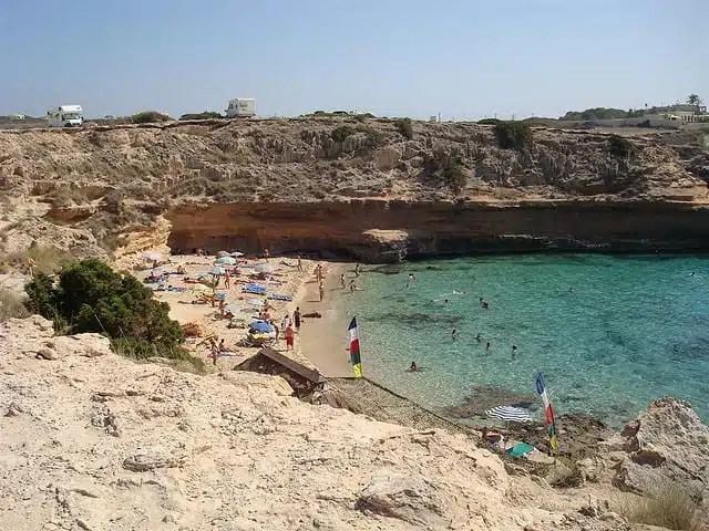 Cala d Hort, Ibiza, Spagna