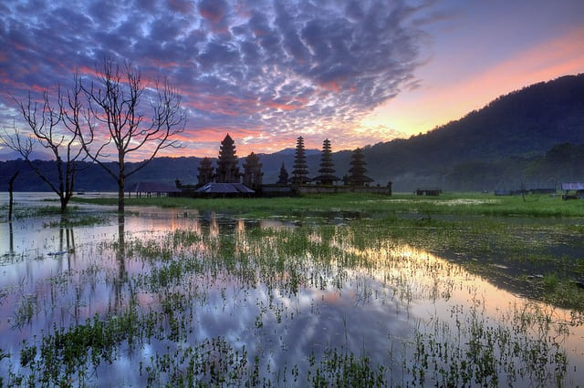 Lago Tamblingan - Indonesia