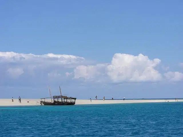 Sand Bank - Zanzibar, Tanzania