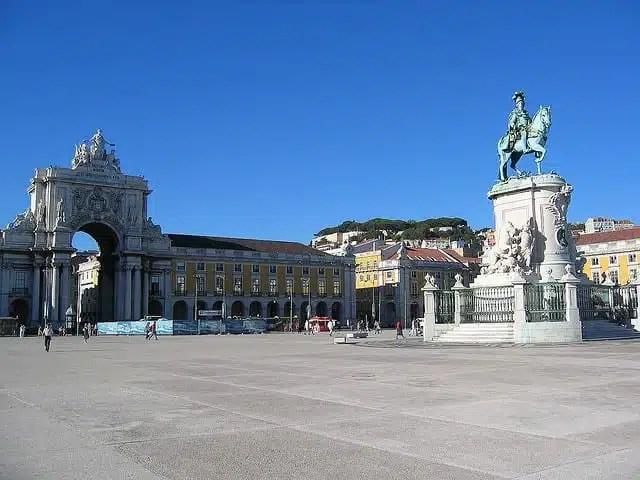 Piazza del Commercio - Lisbona, Portogallo