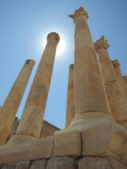 Jerash - Gerasa, Giordania
