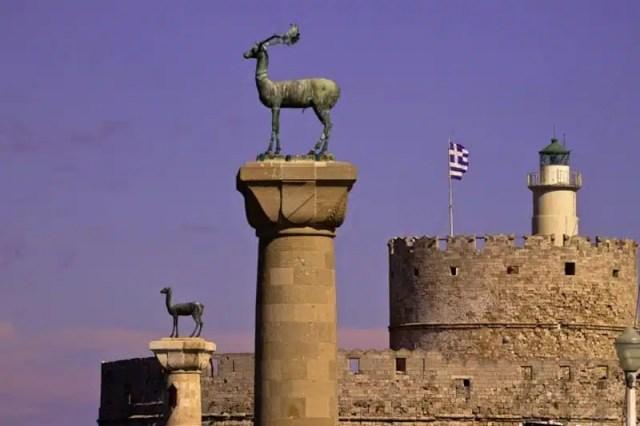 Fortezza di San Nicola - Rodi, Grecia