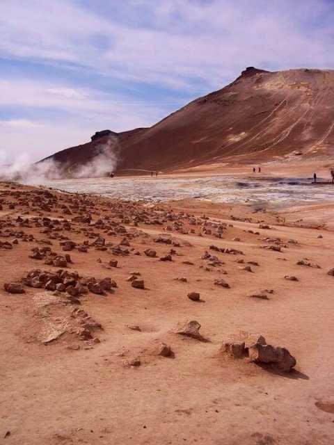 Namafjall, Islanda