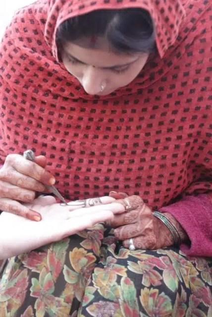 Henné - Fatehpur, Rajastan, India