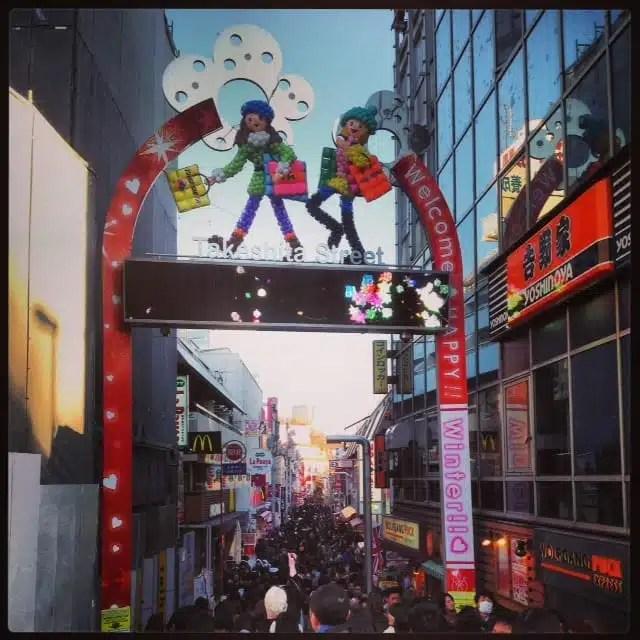 Takeshita Dori - Tokyo, Giappone