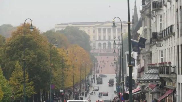 Karl Johans Gate - Oslo, Norvegia